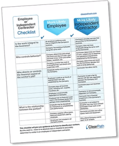 1099 or employee clearpath workforce management
