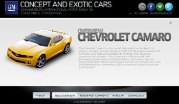 Car Overview Page