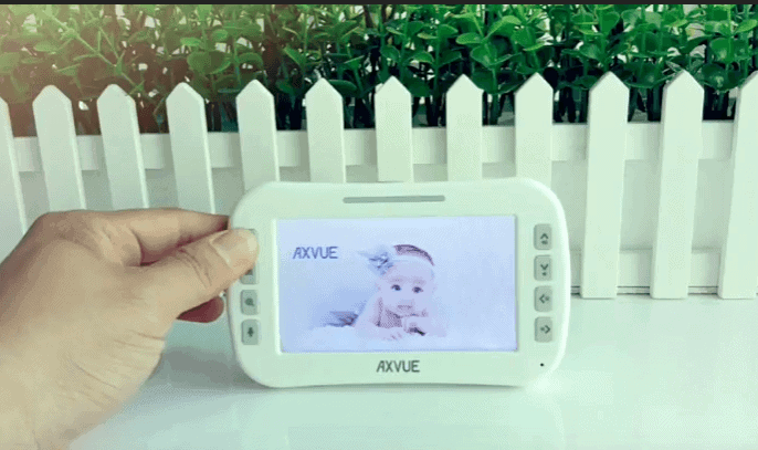 Axvue E632 Video baby monitor with 2 cameras