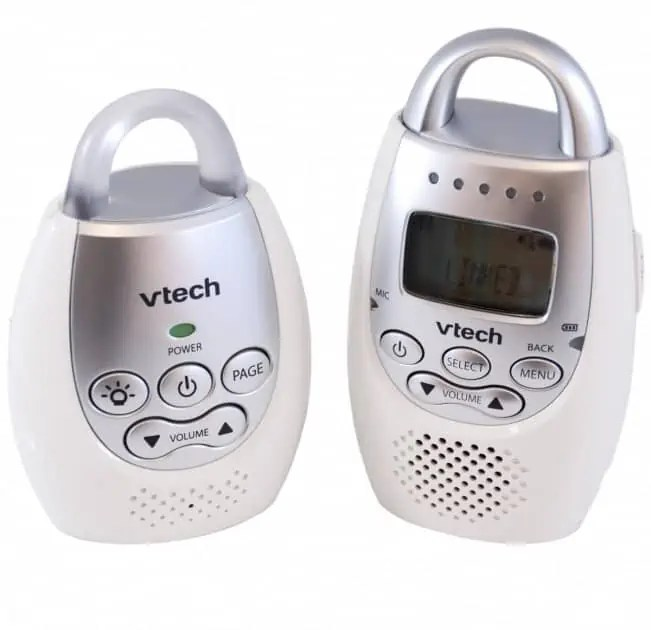 vtech dm221 audio DECT baby monitor