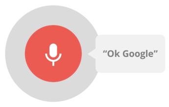 """Okay Google"" Voice command for baby monitors."