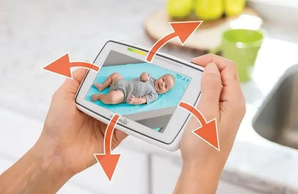 Summer-Infant-voice activated-5-inch-Touchscreen-Baby-Monitor