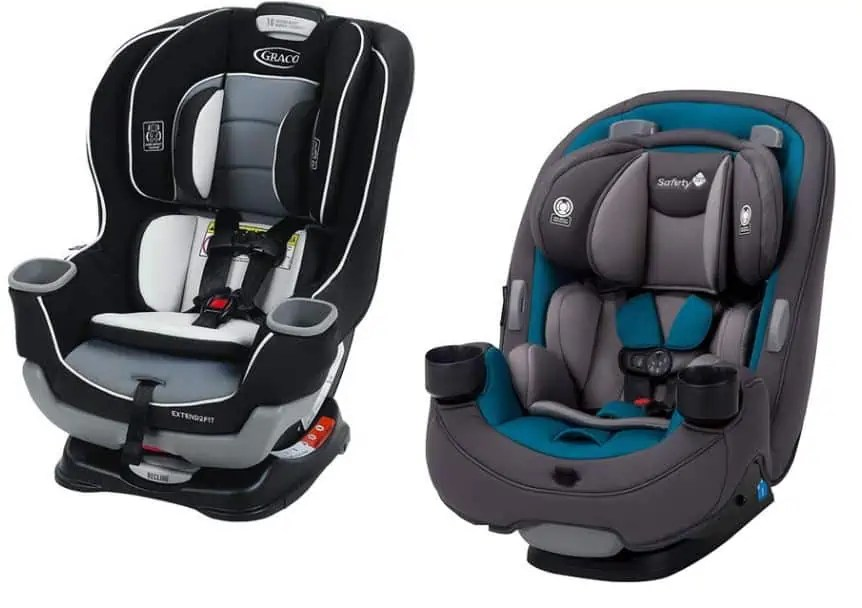 Safety 1st Grow and Go 3-in-1 vs Graco ExtendFit2