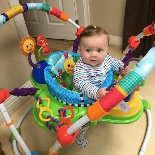 What is a baby activity center