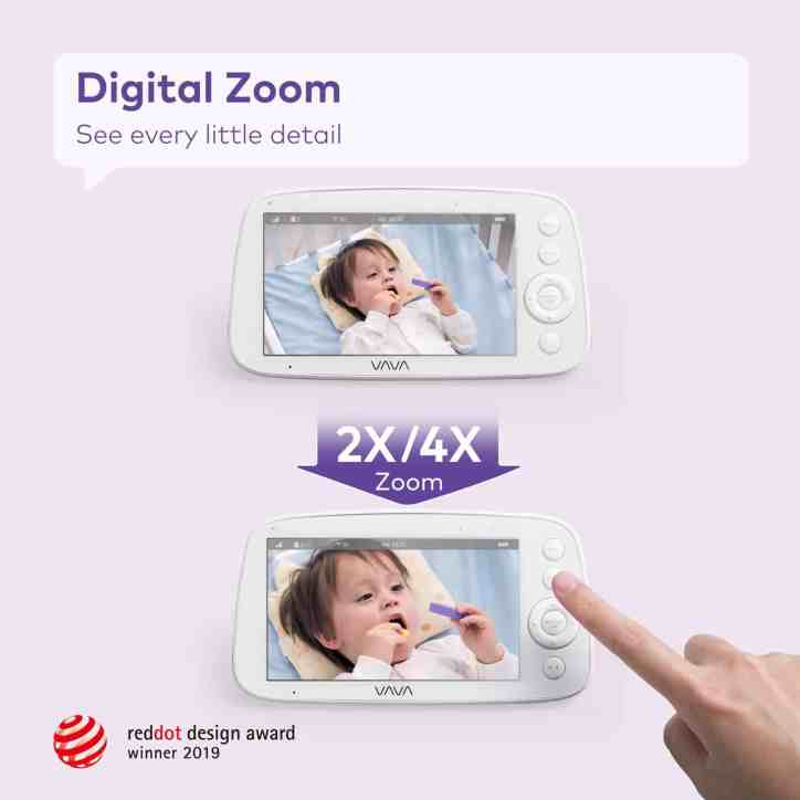 red dot award to Vava baby monitor