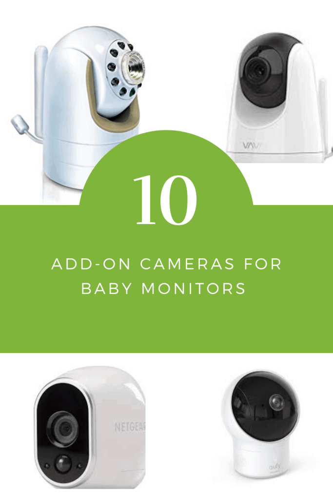 Baby Monitor Add-on Cameras 2020 pinterest pin