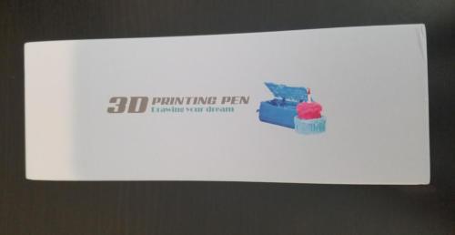 AIO Robotics 3D Printing Pen box front