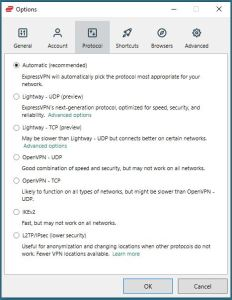 Windows Expressvpn Protocol