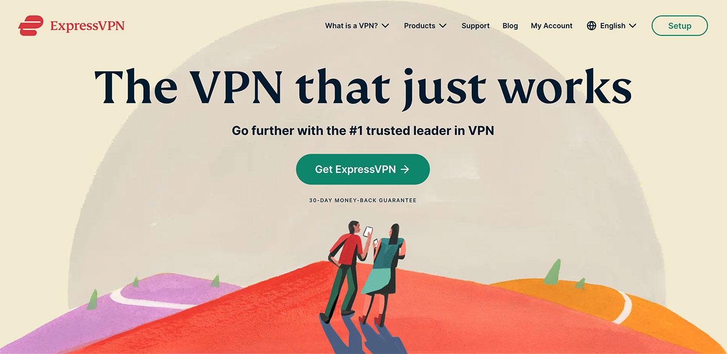 ExpressVPN-官网界面更新