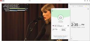ExpressVPN Windows USA - Los Angeles - 5 中国VPN翻墙 科学上网 YouTube测速 20191003