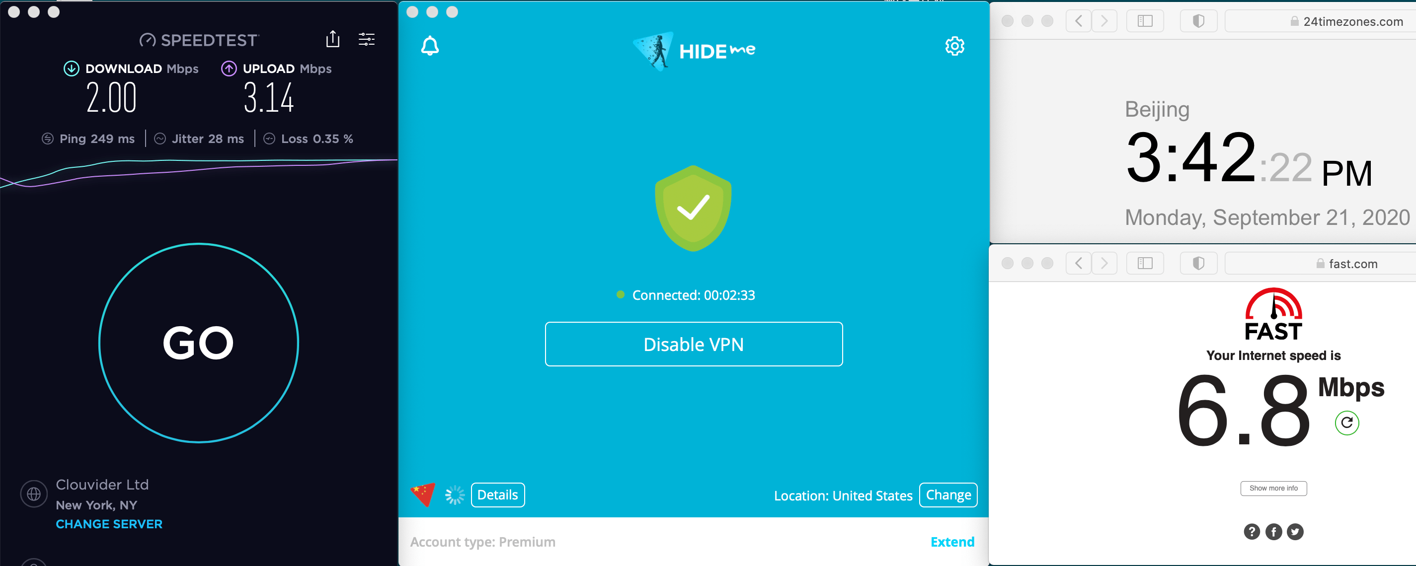 Macbook Hideme VPN Auto Streaming USA For EPSN 中国VPN 翻墙 科学上网 速度测试 2020-09-21 at 15.42.24