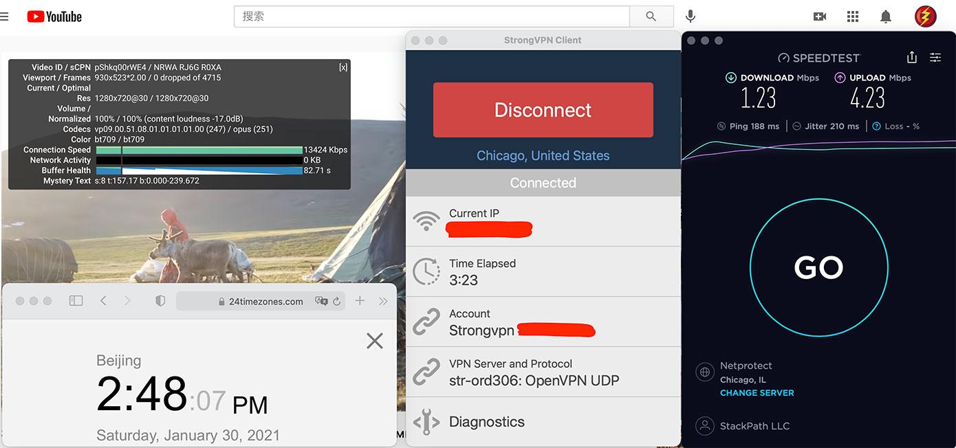 Macbook-StrongVPN-USA-Chicago(306)-中国VPN翻墙-科学上网-10BEASTS-BARRY测速-2021-01-30-at-14.48.07