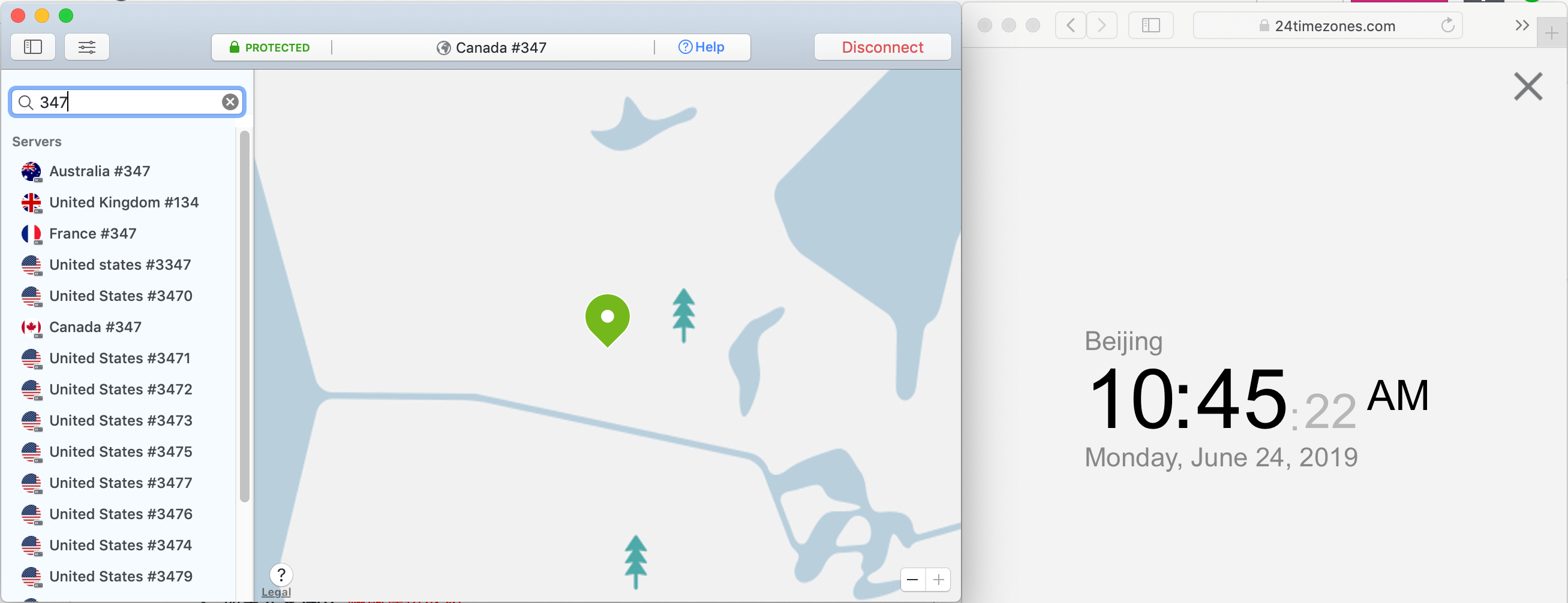 NordVPN macbook cabada 347节点 2019-06-24 上午10.45.23