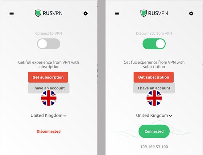 RUS免费浏览器翻墙连接图