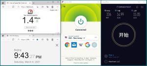 Windows ExpressVPN Lightway协议 USA - New Jersey - 3 中国VPN翻墙 科学上网 10BEASTS BARRY 翻墙测试-20210306
