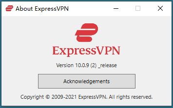 Windows ExpressVPN Options Help support About ExpressVPN