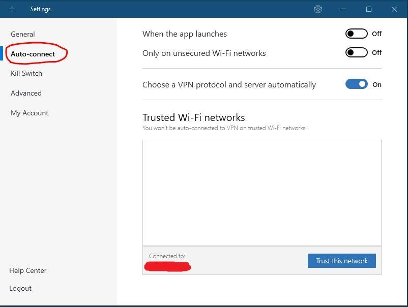 Windows NordVPN 连接协议设置 步骤2