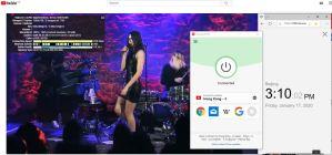 Windows10 ExpressVPN Japan Tokyo - 3 中国VPN翻墙 科学上网 Youtube测速 - 20200117