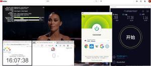 Windows10 ExpressVPN Lightway USA - Atlanta 服务器 中国VPN 翻墙 科学上网 10BEASTS Barry测试 - 20210310
