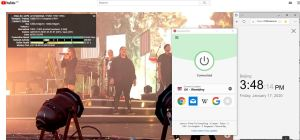 Windows10 ExpressVPN UK - Wembley 中国VPN翻墙 科学上网 Youtube测速 - 20200117