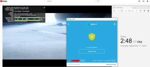 Windows10 HidemeVPN USA California 服务器 中国VPN 翻墙 科学上网 翻墙Youtube速度测试 - 20200917
