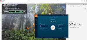 Windows10 IvacyVPN Australia 中国VPN 翻墙 科学上网 youtube测速-20200522