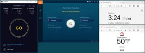 Windows10 IvacyVPN Automatica Australia 服务器 中国VPN 翻墙 科学上网 翻墙速度测试 - 20201009