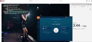 Windows10 IvacyVPN France 中国VPN 翻墙 科学上网 测速-20200601