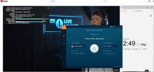 Windows10 IvacyVPN USA 中国VPN翻墙 科学上网 Youtube测速-20200121