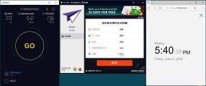 Windows10 PureVPN France 中国VPN 翻墙 科学上网 测速-20200605