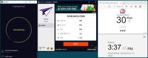 Windows10 PureVPN IKEv2 India 服务器 中国VPN 翻墙 科学上网 翻墙速度测试 - 20200923