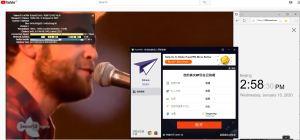 Windows10 PureVPN Indonesia 中国VPN翻墙 科学上网 YouTube连接速度 VPN测速 - 20200115