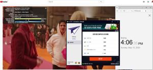 Windows10 PureVPN Italy 中国VPN 翻墙 科学上网 youtube测速-20200510