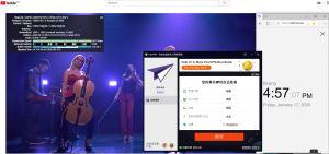 Windows10 PureVPN Singapore 中国VPN翻墙 科学上网 Youtube测速 - 20200117