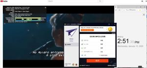 Windows10 PureVPN United States 中国VPN翻墙 科学上网 YouTube连接速度 VPN测速 - 20200115