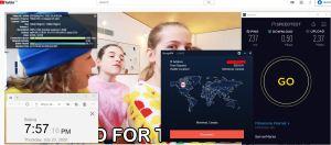 Windows10 StrongVPN Canada - Montreal 中国VPN 翻墙 科学上网 测速-20200723