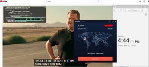 Windows10 StrongVPN IKEv2 San Francisco-USA 中国VPN 翻墙 科学上网 youtube测速-20200522