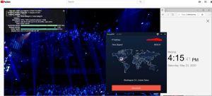 Windows10 StrongVPN IKEv2 USA-Washington DC 中国VPN 翻墙 科学上网 youtube测速-20200523