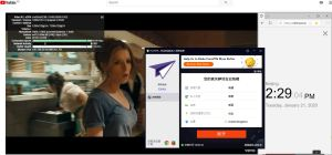 Windows10 StrongVPN United Kingdom 中国VPN翻墙 科学上网 Youtube测速-20200121