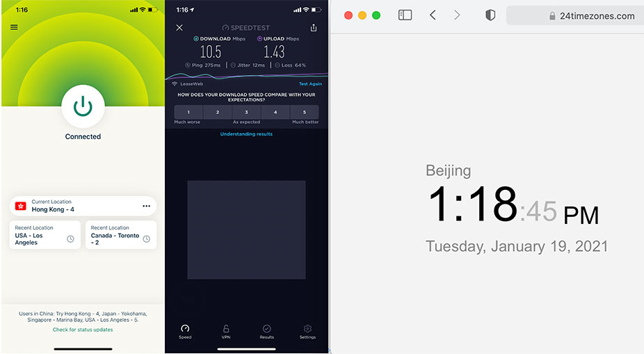 iOS-iPhone-ExpressVPN-Automatic-Hong-Kong-4-服务器-中国VPN-翻墙-科学上网-10BEASTS-Barry-测试2021-01-19-at-13.18.45
