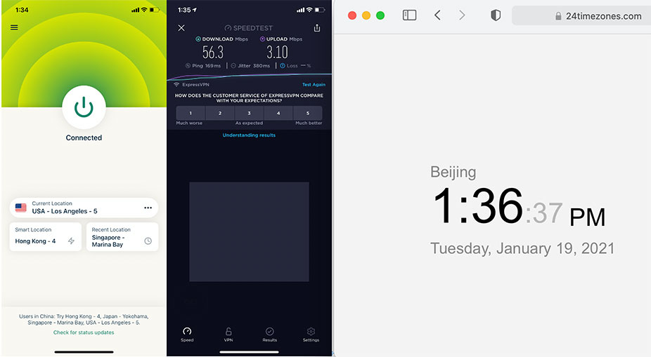 iOS-iPhone-ExpressVPN-Automatic-USA-Los-Angeles-5-服务器-中国VPN-翻墙-科学上网-10BEASTS-Barry-测试2021-01-19-at-13.36.37