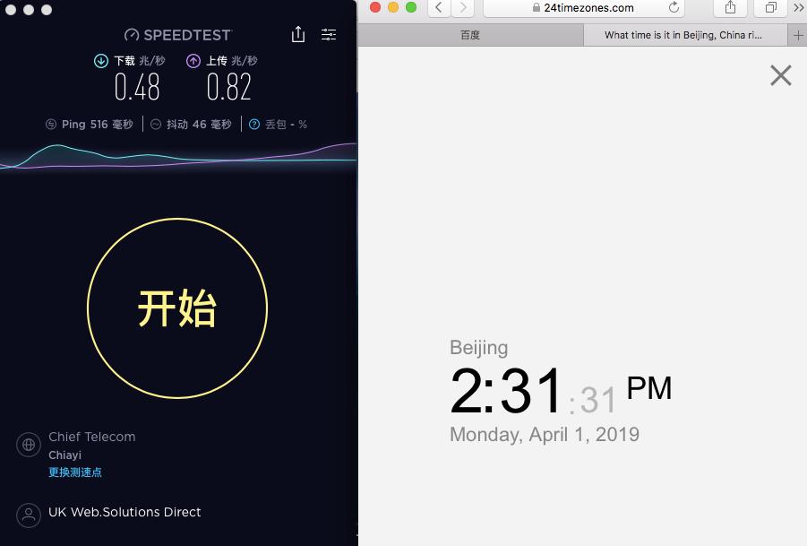 macbook nordvpn united kingdom节点Speedtest 20190401-143151