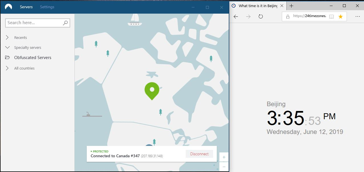 nordVPN-windows10-canada-347节点-20190612