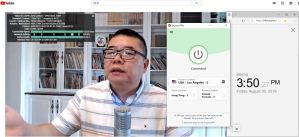 windows expressvpn USA-los angeles-5服务器 中国翻墙 科学上网 YouTube测试-20190830
