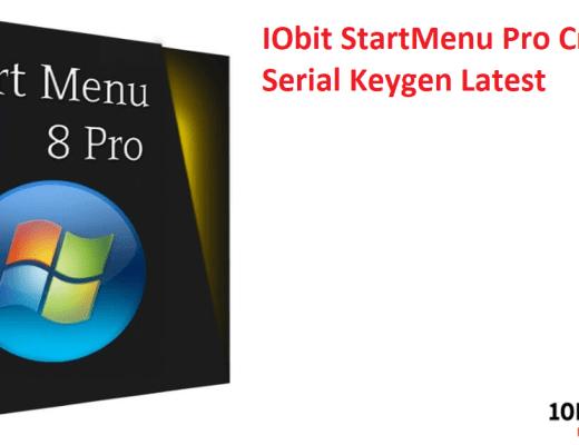 IObit StartMenu Pro Crack & Serial Keygen Latest