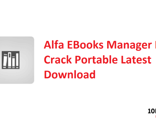 Alfa EBooks Manager Pro Crack Portable Latest Download