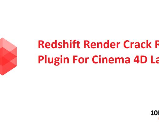 Redshift Render Crack R20 Plugin For Cinema 4D Latest