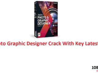 Xara Photo Graphic Designer Crack With Key Latest
