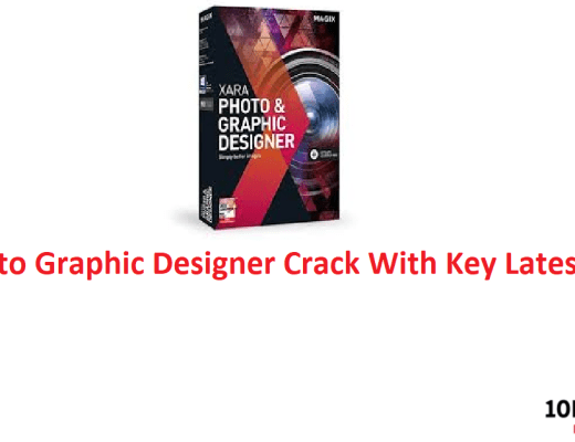 Xara Photo Graphic Designer Crack With Key Latest