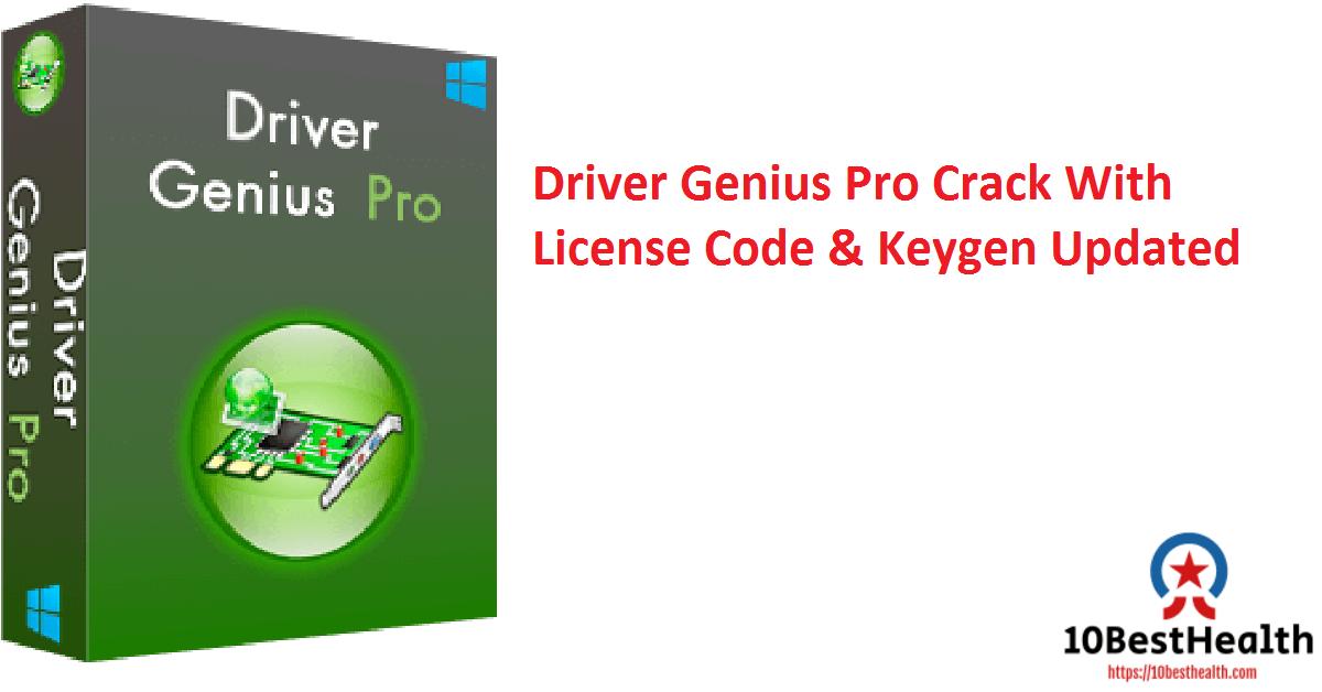 Driver Genius Pro Crack With License Code & Keygen Updated